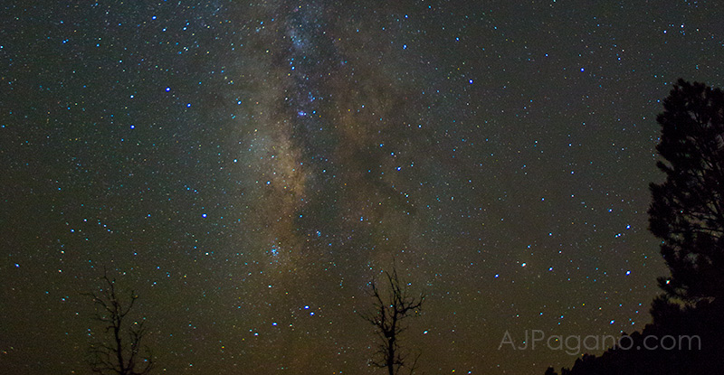 The Milky Way and Mule Deer, from east of Cedar City, UT