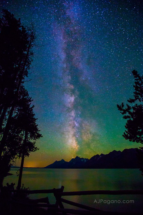 Milky Way and the Tetons