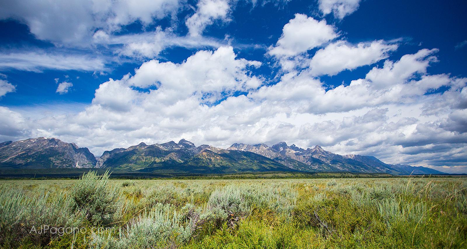Grand Tetons Clouds
