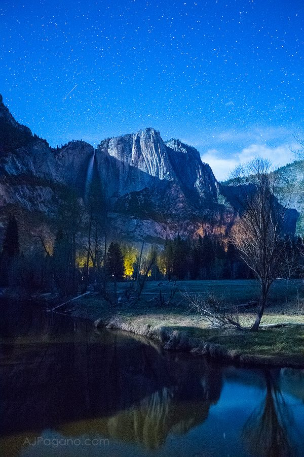 Yosemite Falls Mercedes River