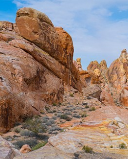 Valley of Fire White Dome Panoramic Product