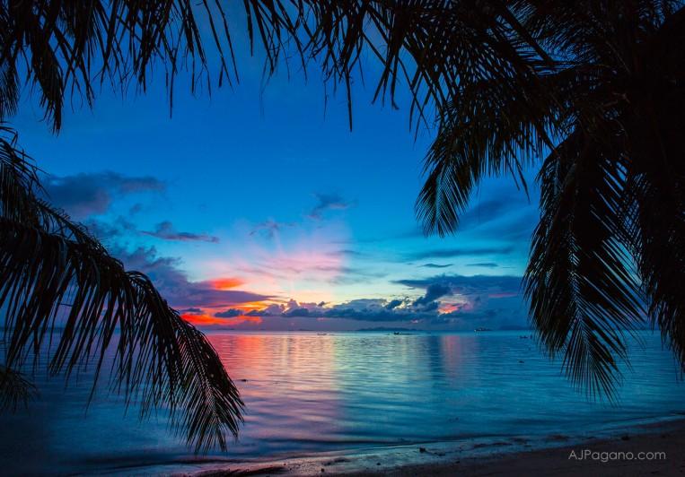Koh Samui Thailand Sunset