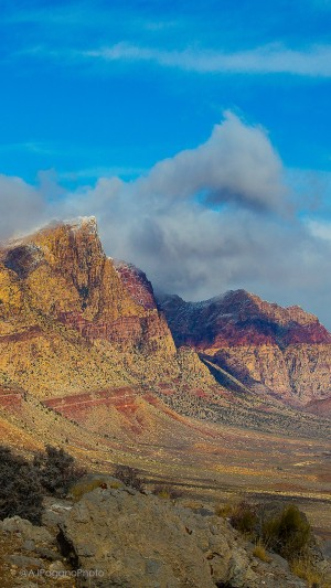 Red Rock Canyon mobile background
