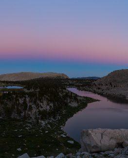 Cottonwood Lakes Sunset