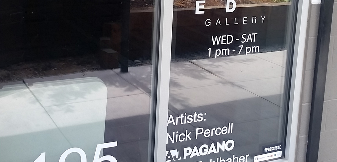 The gallery is closed