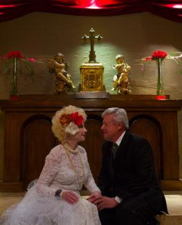 Las Vegas wedding photography couple