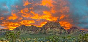 Red Rock Sunset Las Vegas